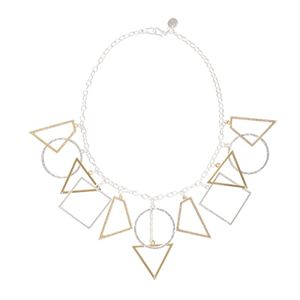 Picture of Geometric Expression Necklace